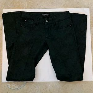 Glam City Rockers Black Studded Jean